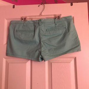 Express Shorts - Teal shorts